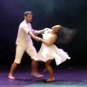 Alex & Ebony Zouk Performance Doudoule Latin Dance