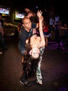 бразильский парный  зук танец